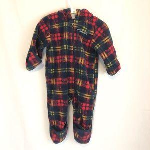 Columbia fleece bundle suit 6-12 months